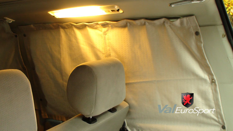 Car privacy curtains